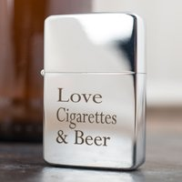 Engraved Lighter - Three Things - Lighter Gifts