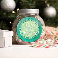 Personalised Candy Canes - Merry Christmas - Candy Gifts