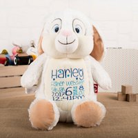 Personalised Cubbies Rabbit Soft Toy - Toy Gifts