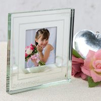 Spaceform Glass Mirror Frame - Bridesmaid