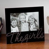 'The Girls' Black Glass Photo Frame - Photo Frame Gifts