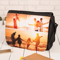 Photo Upload Messenger Bag - 3 Photos - Photos Gifts