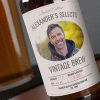 Personalised Beer - Vintage Brew