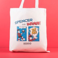 Personalised Beano Classic Tote Bag - Top Dog - Dog Gifts