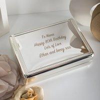 Engraved Jewellery Box - Jewellery Box Gifts