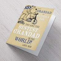 Personalised Card - Bestest Grandad - Grandad Gifts