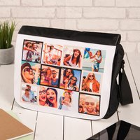 Photo Upload Messenger Bag - 12 Photos - Photos Gifts