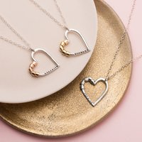 Personalised Posh Totty Designs Secret Heart Necklace - Posh Gifts