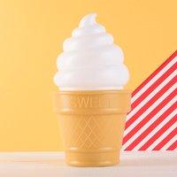 Ice Cream Cone LED Night Light - Ice Cream Gifts