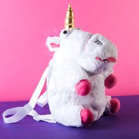 Despicable Me 3 Fluffy Unicorn Backpack - Despicable Me Gifts
