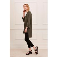 Remix Jersey Wrap Over Blouse
