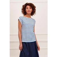 Petit Scallop Roll Sleeves T-Shirt