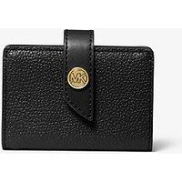 MKSmall Pebbled Leather Wallet - Negro(Negro) - Michael Kors