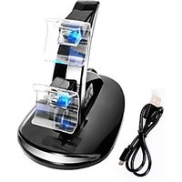LED Light Dual Charging Dock Station Charger for Xbox One Controller