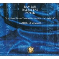 Image of Claude Balbastre - Rameau Balbastre Royer: Airs D'opera Accommodes Pour Le Clavecin