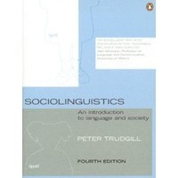 Image of Sociolinguistics by Peter Trudgill