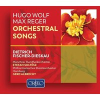 Image of Hugo Wolf - Hugo Wolf/Max Reger: Orchestral Songs