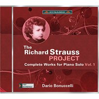 Image of Richard Strauss - The Richard Strauss Project: Complete Works for Piano Solo - Volume 1