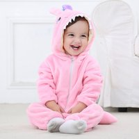 Baby's Little Monster Hooded Jumpsuit for Babies