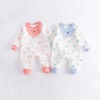 Cactus Pattern Long-sleeve Jumpsuit for Babies