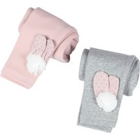 Solid Cotton Leggings for Baby Girls