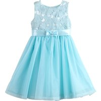 Fairy Flower Embroidery Sleeveless Mesh-layered Party Dress for Baby and Toddler Girls