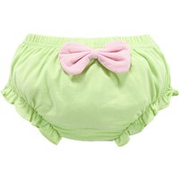 Cute Bow-accented Panties for Baby Girls and Newborn