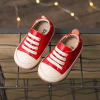 Lovely Suede Leather Crib Sneakers for Baby and Infants