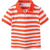 Casual Striped Cotton Short Sleeve Polo Shirt for Boys
