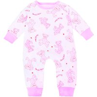 Allover Printed Cotton Jumpsuit for Baby