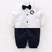 Adorable Faux-two Jumpsuit for Baby and Newborn