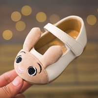 Adorable 3D Rabbit Velcro Shoes for Baby and Toddler Girl