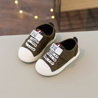 Cool Letters Print Velcro Casual Shoes for Infants and Toddlers