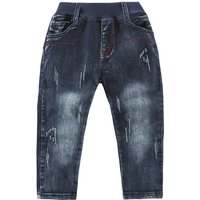 Boy's Trendy Denim Pants in Blue