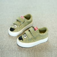 Adorable Cartoon Print Velcro Shoes for Toddlers