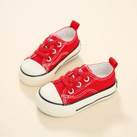 Comfy Lace-up Canvas Shoes for Toddlers