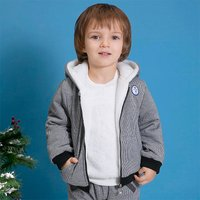 Fleece Lining Hooded Winter Coat for Babies and Toddlers