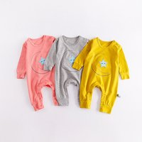 Love Stars and Moon Long-sleeve One Piece for Baby