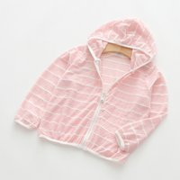 Stylish Striped Hooded Zip-up Jacket for Baby