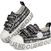 Fashionable Letter Print Velcro Sneakers for Toddler