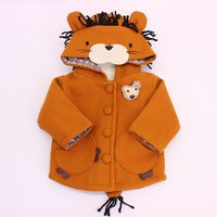 Cute Lion Hooded Coat for Baby and Toddler