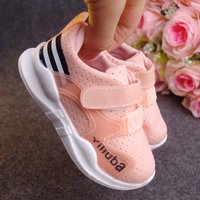 Comfy Mesh Velcro Sneakers for Toddler and Kids