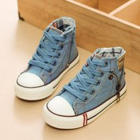 Stylish High-top Lace-up Shoes for Kid