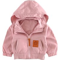 Cool Hooded Zip-up Jacket for Baby