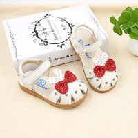 Sweet Bow-accented Sandals for Baby and Toddler Girls