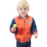 Boy's Stylish Color-block Puffer Jacket