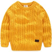 Bright Textured Knit Sweater for Toddler Boy/Boy