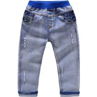 Stylish Threadbare Faded Jeans for Baby and Toddler