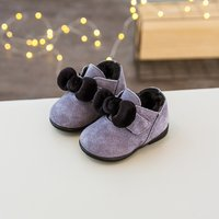 Baby Girl's Sweet Bowknot Boots
