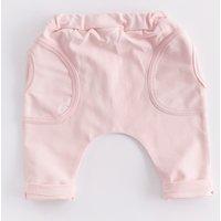 Comfy Solid Elastic Waist Pants for Babies